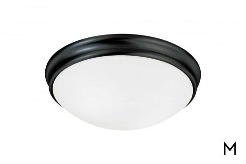 Matte Black Flush Mount Ceiling Light