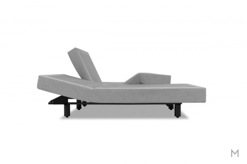 Tempur-Pedic TEMPUR-Ergo® Premier Adjustable Base - Queen in Gray Upholstery