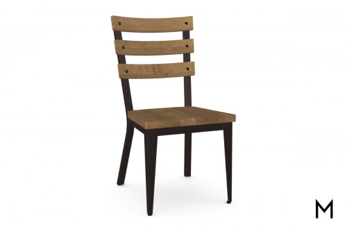 Dexter Dining Chair with Wood Seat