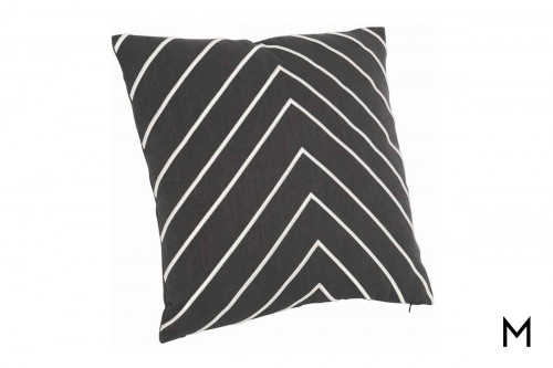 "Luxe Herringbone Pillow 22""x22"""