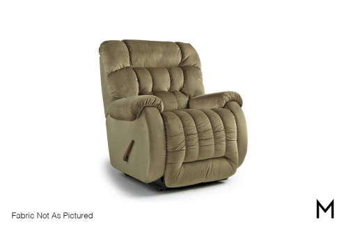 Beast Large Recliner in Light Chocolate Brown