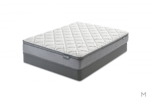 Mattress 1st Casselbury Euro Top Plush Mattress - King with Gel Support Foam