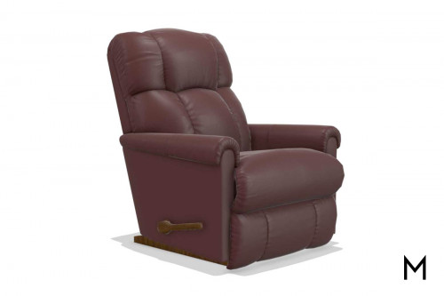 Pinnacle Rocker Recliner in Nappanee Merlot