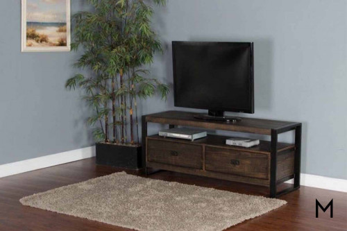 "Homestead 64"" TV Console in Tobacco Leaf"