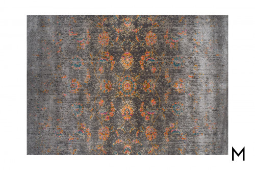 Antique Charcoal Area Rug 8'x10'