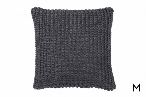 "Nita Pillow 20""x20"" in Stone Gray"