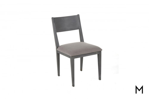 Audrey Side Chair with Upholstered Seat