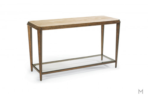 Seville Console Table with Marble Top