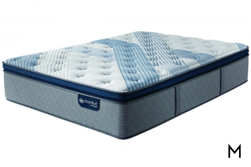 Serta Blue Fusion 4000 Plush Pillow Top in King
