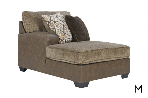 Abalone 3 Piece Sectional with Chaise