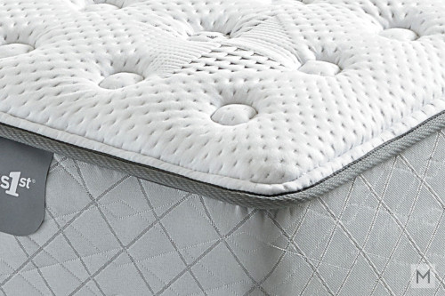 Mattress 1st Harrell Extra Firm Mattress - Twin with Gel-Enhanced Memory Foam