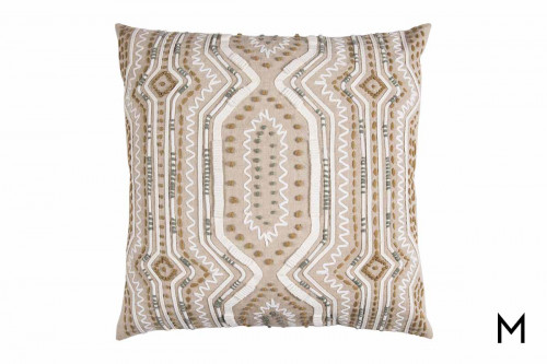 "Tribal Throw Pillow 20""x20"""