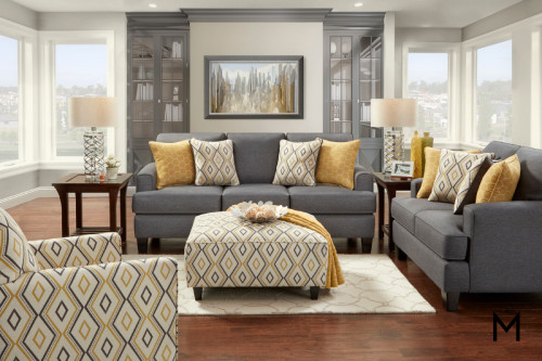 Maxwell Two-Piece Sofa and Loveseat