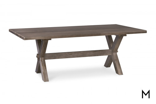 Crossbuck 90x42 Dining Table