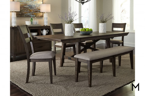 Trestle Bridge 6 piece Dining Set