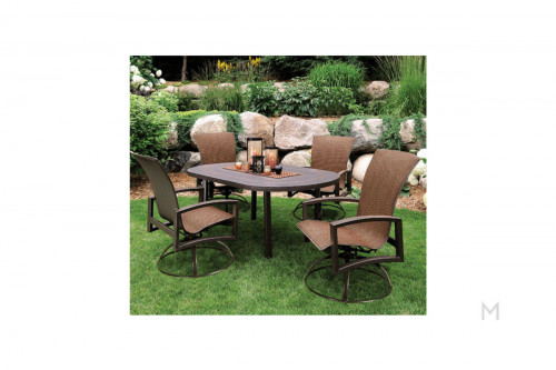 Haven Swivel Arm Patio Chair
