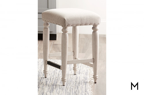 Padded Counter Height Stool