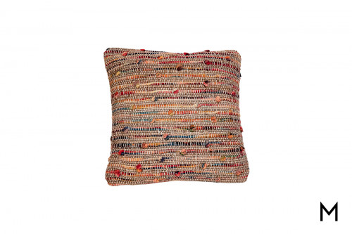 Boho Knotted Throw Pillow