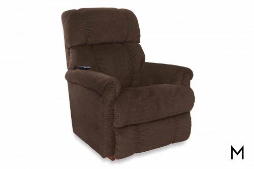 Pinnacle Lift Recliner in Shona Granite