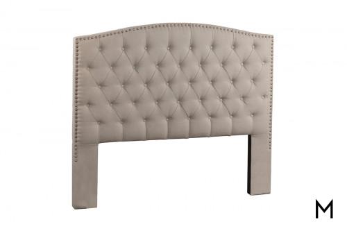 Lila Queen Upholstered Headboard in Dove Gray