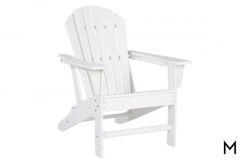 Sundown Adirondack Chair in White