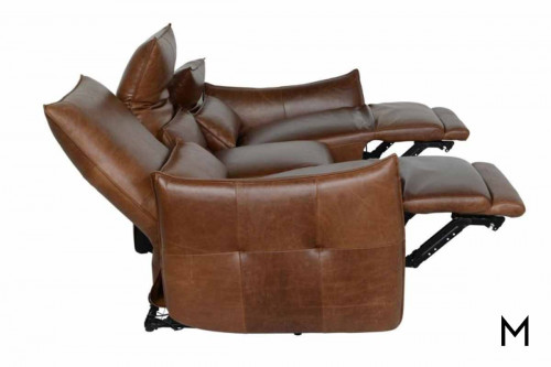 Amsterdam Sofa in Leather with Power Recline