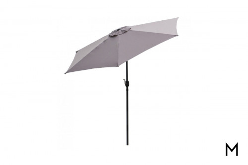 9-Foot Patio Umbrella with Crank