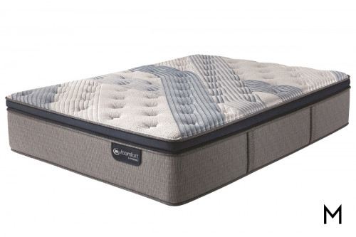 Serta Hybrid Blue Fusion 1000 Lux Firm Pillow Top Queen Mattress