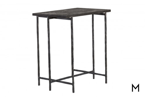 Echo End Table with Bluestone Top