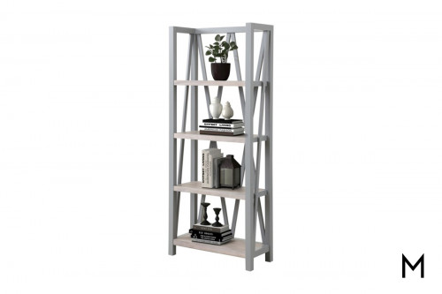M Collection Dove Étagère Bookcase