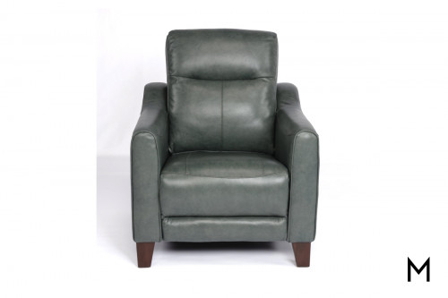 Forte Power Headrest Recliner in Jade