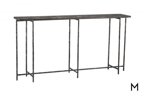 Echo Console Table with Bluestone Top
