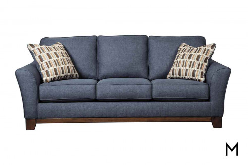 Janley Sofa in Denim Blue