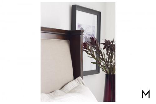 Elise King Storage Bed