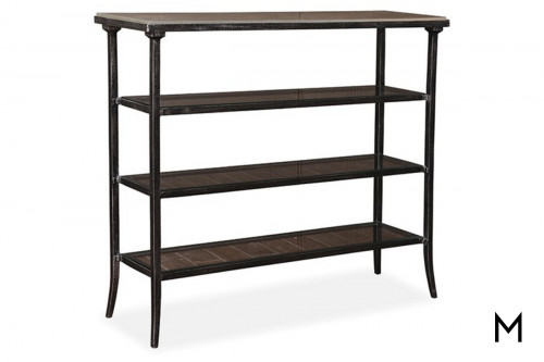 Gara Console Table with Three Bottom Shelves