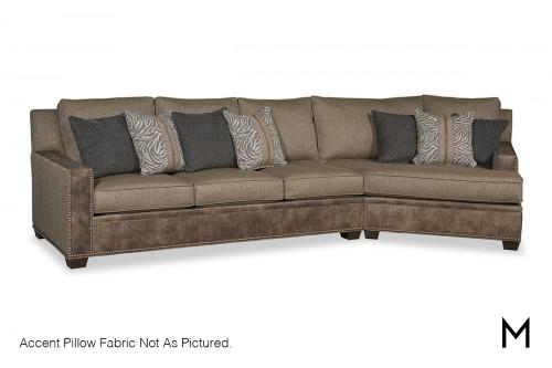 Corner Chaise 2-Piece Sectional Sofa