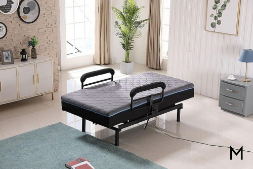 Full Range Lift Bed - Twin XL with Side Rails