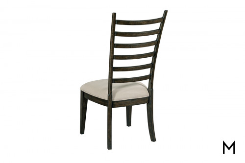 Ladder Back Dining Chair with Padded Seat