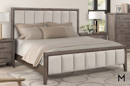 Contemporary Panel Queen Bed