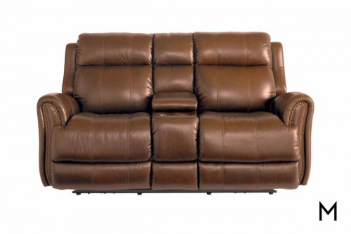 Marquee Reclining Loveseat with Power Headrest