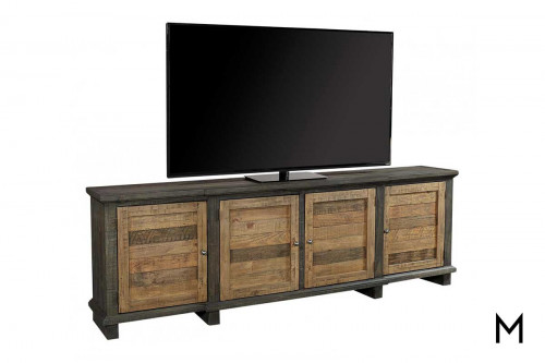 Suffolk Sandstone Extra Large TV Console with 4 Doors