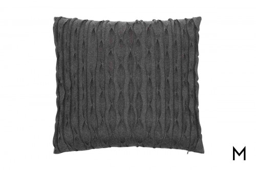"Luxe Pleated Pillow 22""x22"""