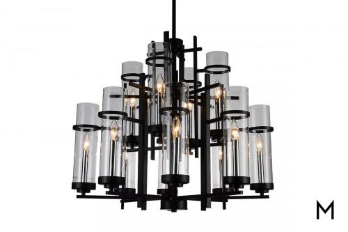 Modern Gothic 12-Light Chandelier