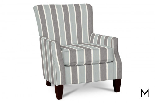M Collection Living Room Chair in Beachbum