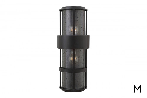 Contemporary 2-Light Wall Sconce