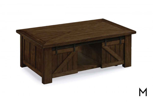 Fraser Lift Top Coffee Table in Rustic Pine