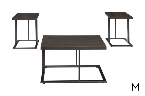 Airdon Accent Tables with 3 Tables