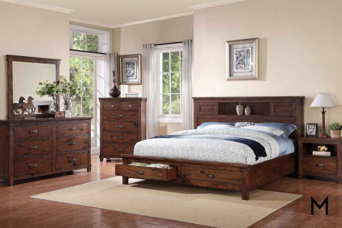 Restoration King Storage Bed