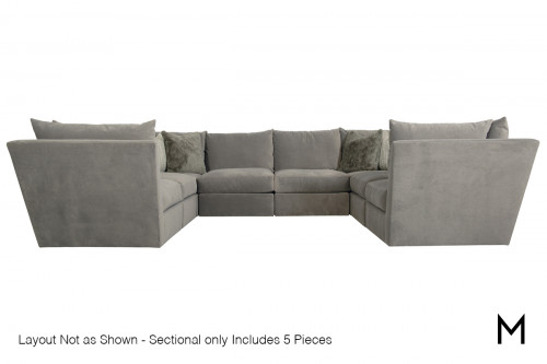 Sanctuary 5-Piece Sectional Sofa