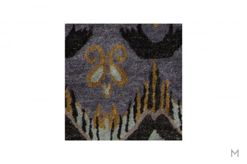 "Rupec Area Rug 7'9"" x 10'6"" in Blue and Gray"